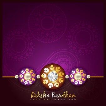 Belo festival indiano hindu de rakshabandhan
