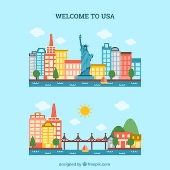 Bem-vindo para os EUA