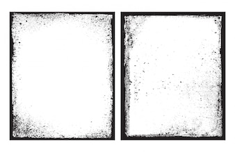 Black frame grunge textura