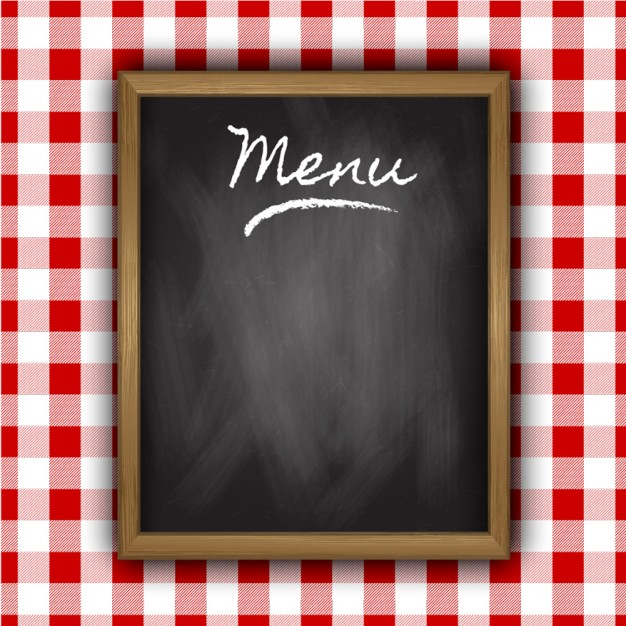 Blackboard do menu de