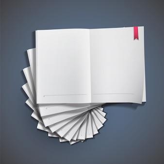 Blan design de papel