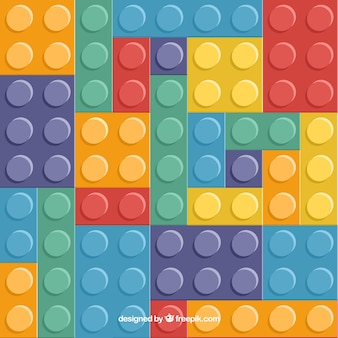 Blocos multicoloridos de fundo