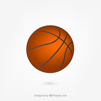 Bola de basquete realista