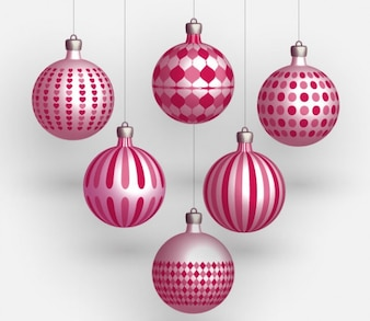 Bolas de Natal Vector