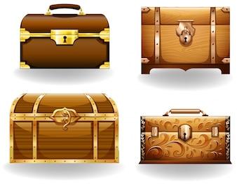 Bolsa de caixa do peito da caixa