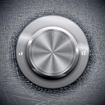 Botão de volume de alta qualidade