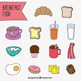 Breakfast coleção elemento