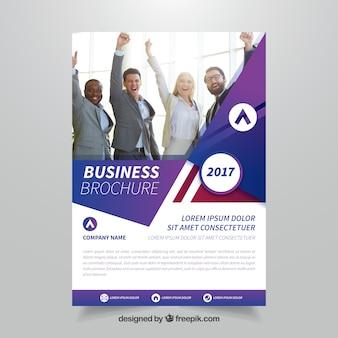 Brochura empresarial criativa