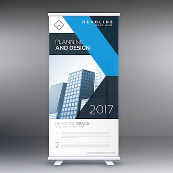 Business Rollup Standee banner design template