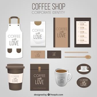 Café identidade corporativa