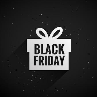 caixa de presente black friday