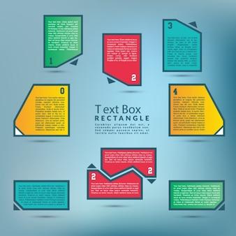 Caixa de texto rectângulo