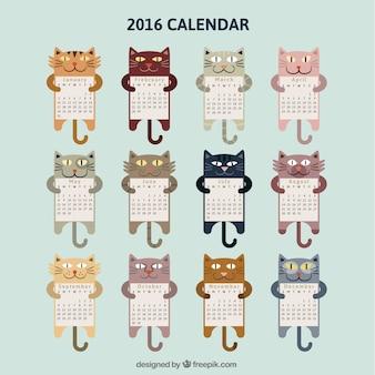 Calendário do gato