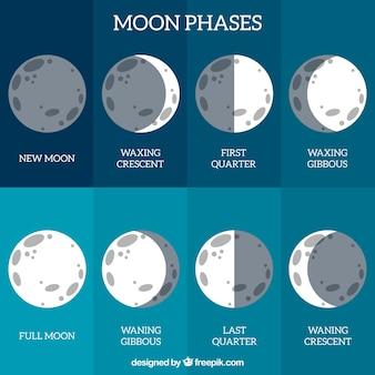 Calendário fase lunar
