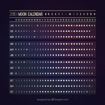 Calendário lunar útil