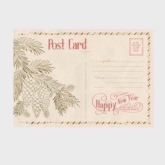 Cartão agradável natal