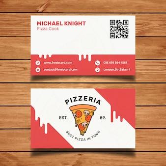 Cartão da pizza