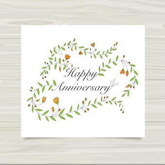 Cartão de aniversário feliz