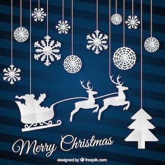 Cartão de Natal liso