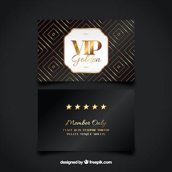Cartão de visita Vip