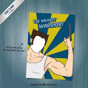 Cartão de Wolverine