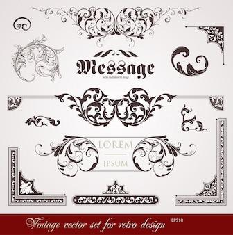 Cartão decorativo tipográfico da nostalgia do rolo