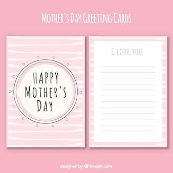 Cartão do dia muito da mãe-de-rosa