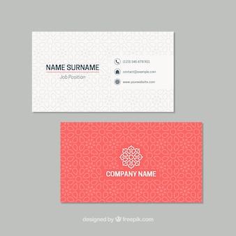 Cartão elegante com mandala