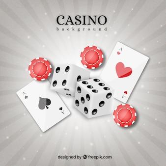 Cartão, fundo, tokens, dados