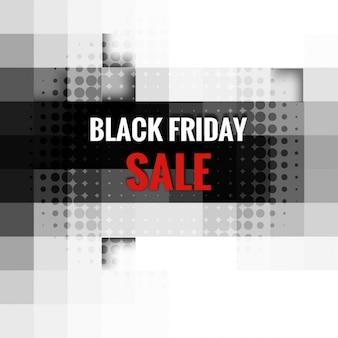 Cartão preto bonito venda sexta-feira