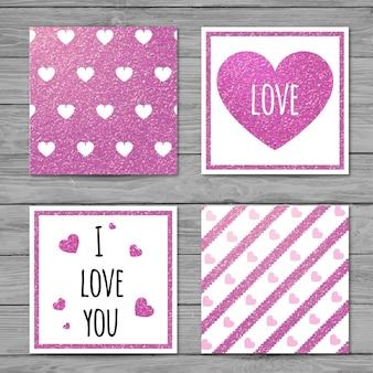Cartões de amor