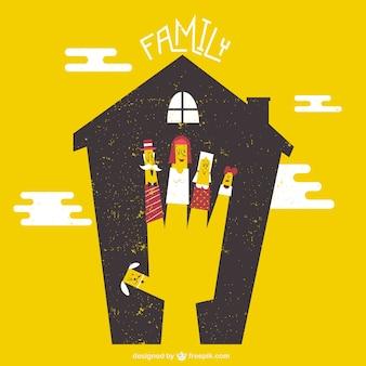 Casa de familia