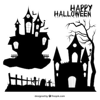 Casas do Dia das Bruxas