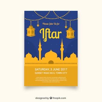 Celebração brochura Iftar