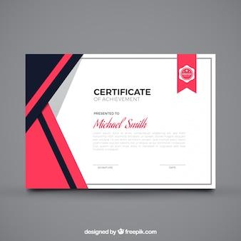 Certificado simples de realização