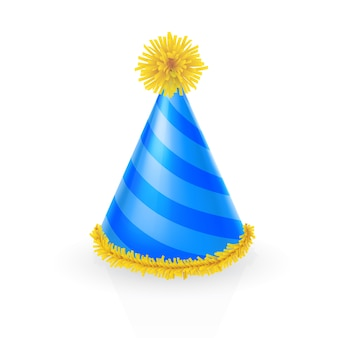 Chapéu de festa decorado