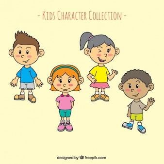 Character crianças
