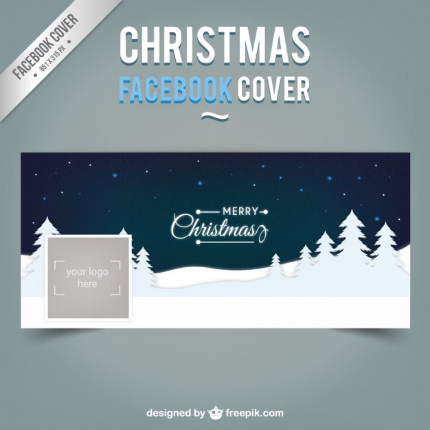 Christmas Night Facebook Capa