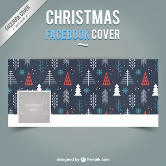Christmas Tree Facebook Capa