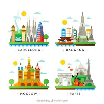 Cidades internacionais coleção
