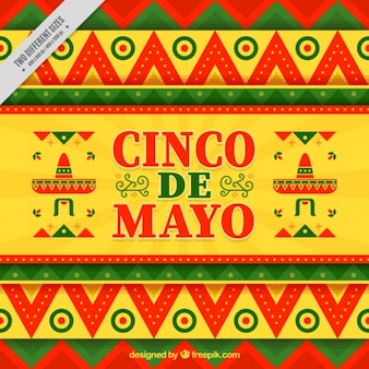 Cinco de mayo de fundo