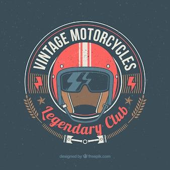 Clube da motocicleta do vintage