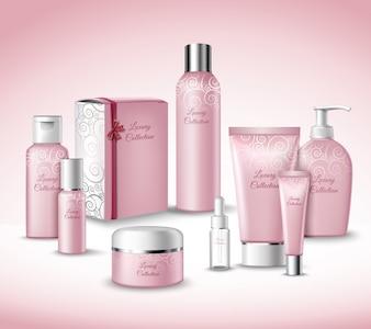 Coleção cosméticos