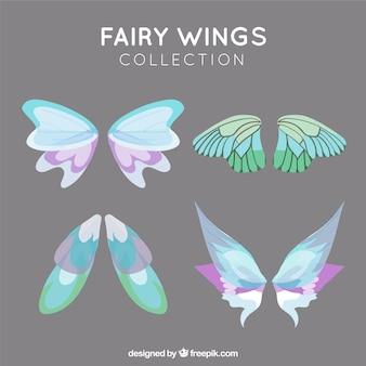Coleção de asas de fadas