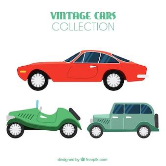 Coleção de carros antigos