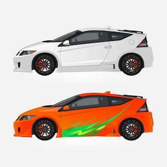 Coleção de carros esportivos
