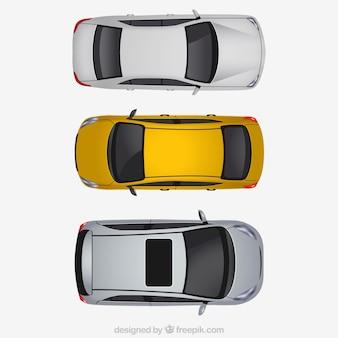 Coleção de carros modernos
