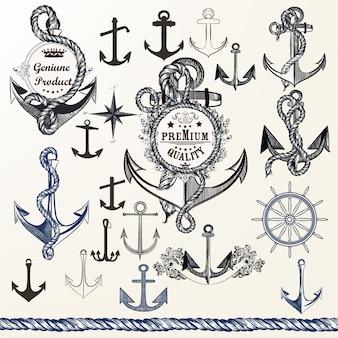Coleção de desenhos Anchore