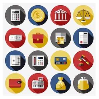 Coleção de elementos do banco