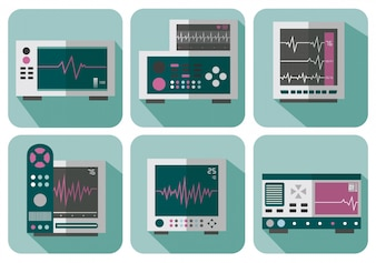 Coleção de eletrocardiograma